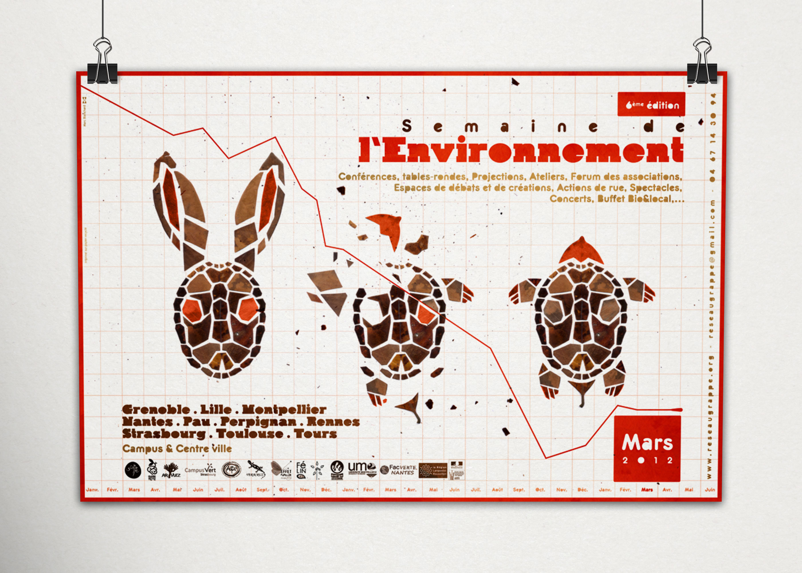 Semaine de l'environnement - Rennes Marc Blanchard Graphisme