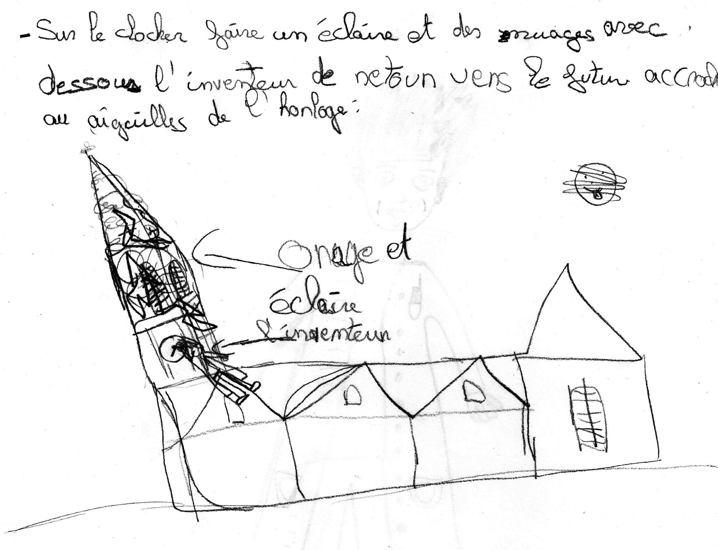 Fête des lumières. Video-mapping Retiers, Ille et Vilaine, Bretagne.
