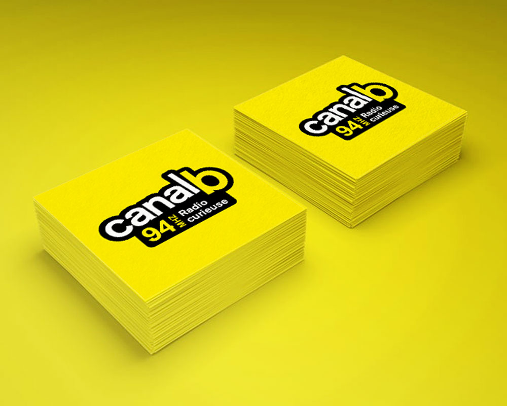 Canal B - Radio Curieuse - Graphisme