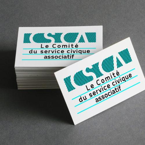 CSCA - Graphisme Tampon - Identité visuelle - Marc Blanchard Rennes Bretagne