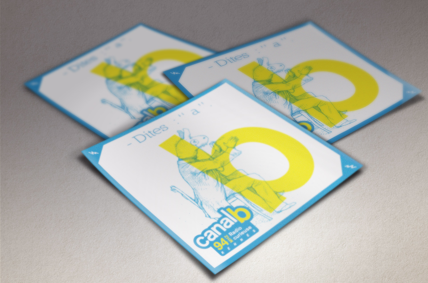 Canal B - Stickers